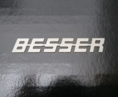 Truck Besser Emblem 1:14