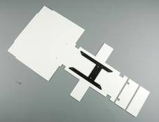 Bausatz Rahmenabdeckung Tamiya Actros 3-Achser für Unterflurgetriebe