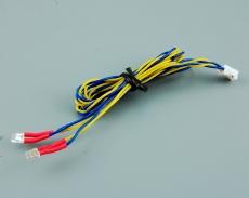Für MFC Kabel rechteckige LED rot