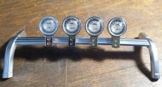4 Stück Ersatzglas für Volvo FH16 Dachlampe