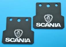Scania Schmutzlappen Set hinten 1:14