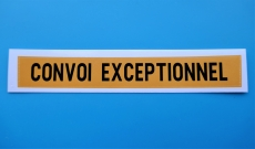 Convoi Exceptionnel Aufkleber 1:14