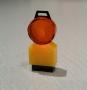 1 Baustellenleuchte gelb/orange