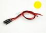 2 Stück 3,0mm LED gelb fertig verkabelt