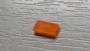 10x Positionsleuchten orange rechteckig 6x3x1mm
