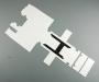 Bausatz Rahmenabdeckung clean für Tamiya Actros 3-Achser