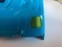 Dach-Scheinwerfer Aufkleber in Gelb transparent für Tamiya Volvo FH16