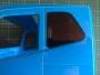 Seitenscheiben Aufkleber in Schwarz für Tamiya Volvo FH16