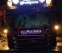 Beleuchtetes Scania Acrylschild für Tamiya Grill mit LED und Aufkleber