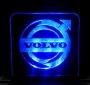 Gelasertes Acrylglas Volvo + Beleuchtung No. 01
