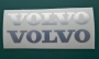 Volvo chrom Aufkleber