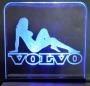 Gelasertes Acrylglas Volvo + Beleuchtung No. 03