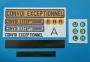 Convoi Exceptionnel Aufkleber 14-teilig Set 1:14